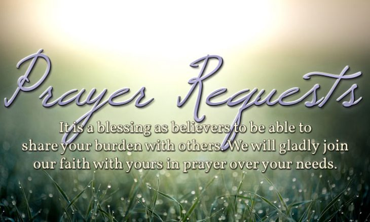 Image result for prayer requests
